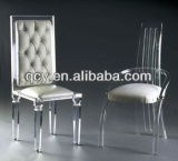 2017 Factory Wholesale Transparent Plastic Acrylic Dining Chiavari Chair