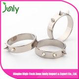 Fancy Stainless Steel Engagement Ring for Men Wedding Rings