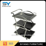 High Quality Stainless Steel Three Layer Hotel Trolley