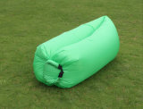 High Quality Inflatable Outdoor Polyester Air Sleeping Lazy Sofa Bed (N326)