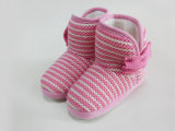 Children Casual Cute Warm Knitted Soft Boots for Winter