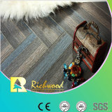 Commercial 8.3mm HDF Crystal Oak Sound Absorbing Laminate Flooring