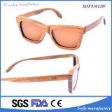 OEM Zebra Wooden Sunglasses Sunglasses China Custom