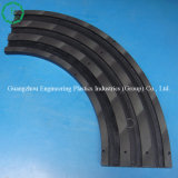 Multiple-Groove Plastic UHMWPE Guide