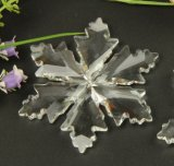Crystal Snowflake Pendants for Decorate Christmas Tree