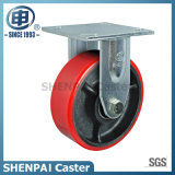 "5"" Iron-Core PU Rigid Industrial Caster Wheel"