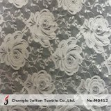 Fashion Rose Elastic Lace Fabric for Lingerie (M0412)