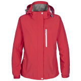 2015 Womens Adjustable Hood Waterproof Jacket