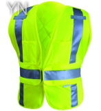 Fluorescent Green High Visibility Vest