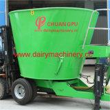 Mobile Vertical Cow Feed Mixer Dairy Farm Equipment