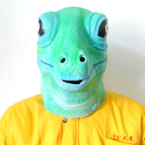 Latex Full Head Reptile Lizard High Quality Fancy Dress Carnival Mask
