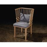 (SL-8201) Solid Wood Hotel Restaurant Room Furniture Wooden Leisure Arm Chair