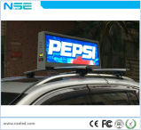 3G WiFi Taxi Roof Advertising Screen P2.5mm Outdoor
