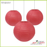 Red Paper Lantern for Christmas Wedding Decoration