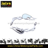 Motorcycle Parts Teardrop Chromed Plated Side Rearview Mirror for Universal