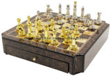 Luxury High Gloss Wooden Chess Set (large size)