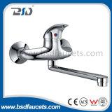 European Elegant Wall Mounted Kitchen Faucet