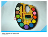 12 Color 3.0cm Water Color Cake with Brush for Painting and Drawing