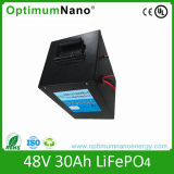 LiFePO4 Battery Pack 48V 30ah for Electric Bicycles