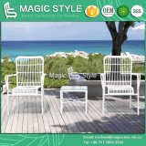 Round Wicker Dining Chair Patio Stackable Chair Outdoor Dining Chair (Magic Style)