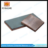 Titanium Clad Copper Two Metals Plate with Explosion Welding