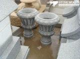 Natural Granite Stone Flower Vase/Pot for Garden Decoration (LAP01)