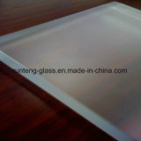 5mm High Quality Sandblasting Glass Panels