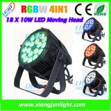 Indoor 18X10W LED PAR Can Light 4 In1 LED Lamp