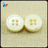 Nature White Trocas Mop Shell Button for Clothes