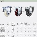 Heavy Duty Type New Double Pedal Brake Caster (C-5)