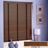 Wand Cord Tilt 50mm Timber Venetian Wooden Blinds with Ladder Tape
