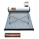 High-Pressure Copper Coil Heat Exchang Solar Water Heater for Home