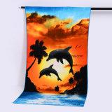 250GSM Full Color Imprinting Microfiber Beach Towel