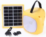 Small Rechargeable LED Home Lighting 1.7W 6V Solar Energy System