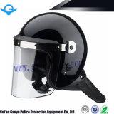 Professional Violence Proof Helmet with PC Flat Visor