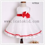 Fancy Fashion Girls Tulle Dress for Kids Clothes