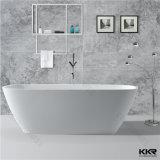 Elegant Freestanding Artificial Stone Acrylic Solid Surface Bathtub