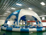 Round Inflatable Water Pool with Cover (HL-302)