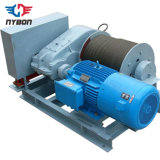 Slow Speed Wire Rope Electric Winch 220V ~ 480V 50/60Hz