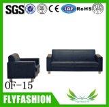of-15 Modern Double Office Sofa Comfortable PU Leather Sofa