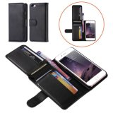 Magnetic Wallet Leather Card Flip Pouch Folding Case Cover