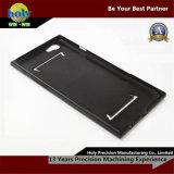 Glossy Black Finish CNC Aluminum Parts iPhone Case Custom CNC Machining Parts