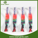 Satin Ribbon Fabric Wristbands for Music Festival Gifts