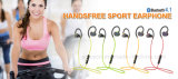 Voice Cancelling Wireless Fitness Stereo Hi-Res Sound Bluetooth Earphones