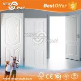 Interior Smooth White Primer Molded HDF Wooden Door for Bedroom