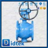 Didtek API 6D Reduced Bore Segment Ball Valve with Worm Gear