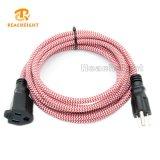 UL Listed Textile Plug Cord Set