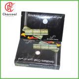 Hong Qiang 100% Bamboo Attractive Silver Hookah Charcoal