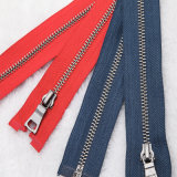 High Quality Wholesale Brass Metal Zipper for Garments