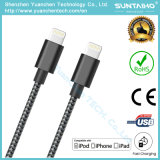 Fabric Braided Nylon Design USB Lightning Fast Charger Cable for Iphon5/6/7